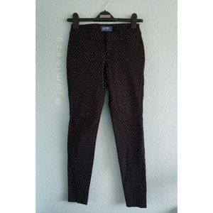 """Old Navy   """"Pixie"""" Mid-Rise Patterned Pants"""